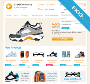 Download Free E-commerce Plugin and WordPress Themes