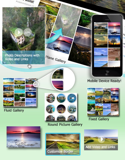 Grid Photo Gallery WordPres plugin