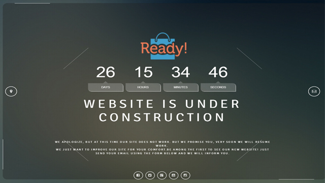 Coming Soon WP Theme responsive landing page